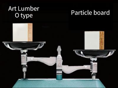 Decorative shelf boards [Lumber Series] | PT NANKAI INDONESIA